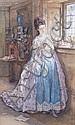 William Small (1843-1929), Watercolour, Girl, William Small, Click for value