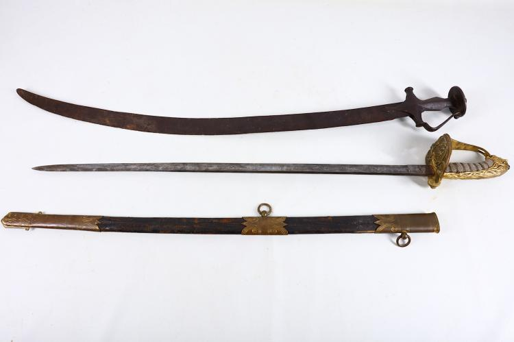 A British 1827 pattern naval officer's sword, with
