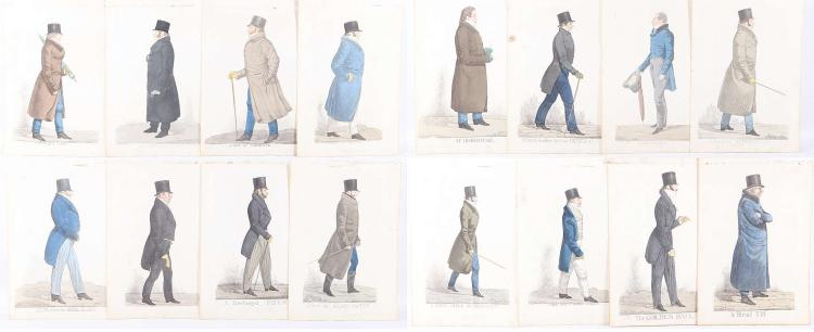 AFTER RICHARD DIGHTON. A good selection of hand tinted portrait engravings, circa 1810-20. Sitters include: Lord Londonderry, General Botton, Duke of Argyle, Marquis of Hertford, Lord Lake, Hon. George Lamb, Lord Fife, Duke of Gloucester, and others. Unmounted. 32cm x 19cm (20).