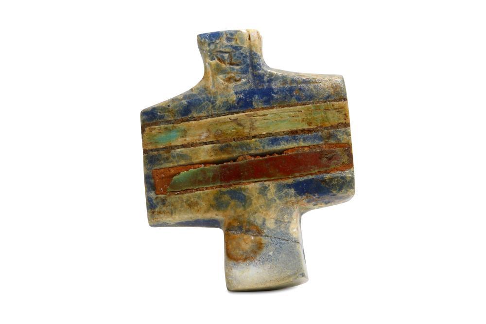 AN EGYPTIAN DJED PILLAR FRAGMENT