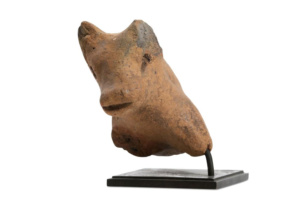 A NEOLITHIC GREEK PROTOME OF A BULL