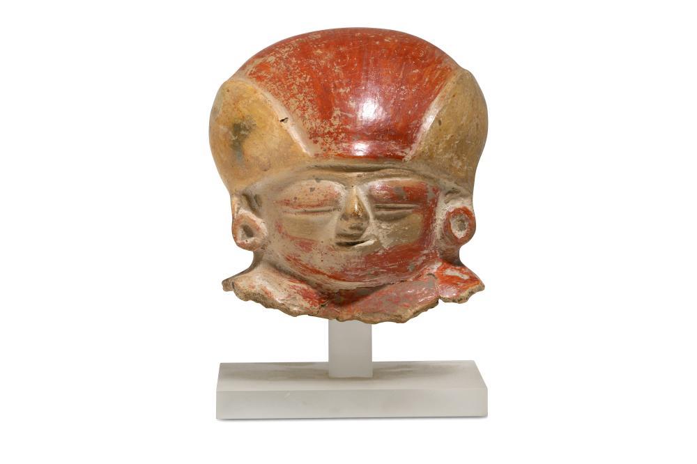 A MANABI HEAD, ECUADOR