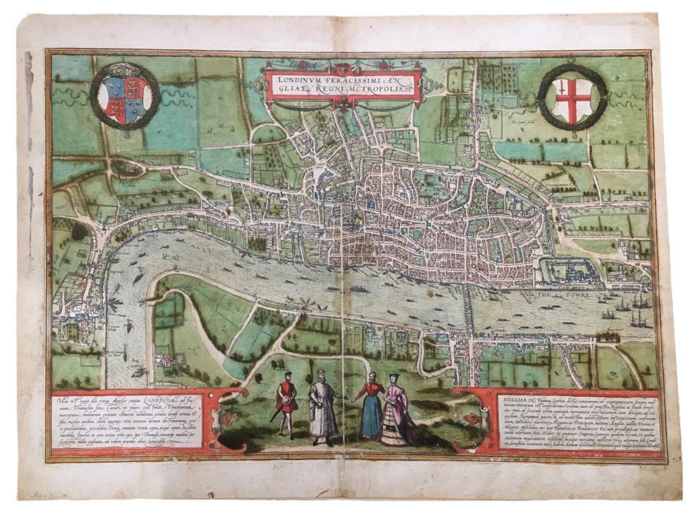 Braun: Londinum Feracissimi Angliae Regni Metropolis