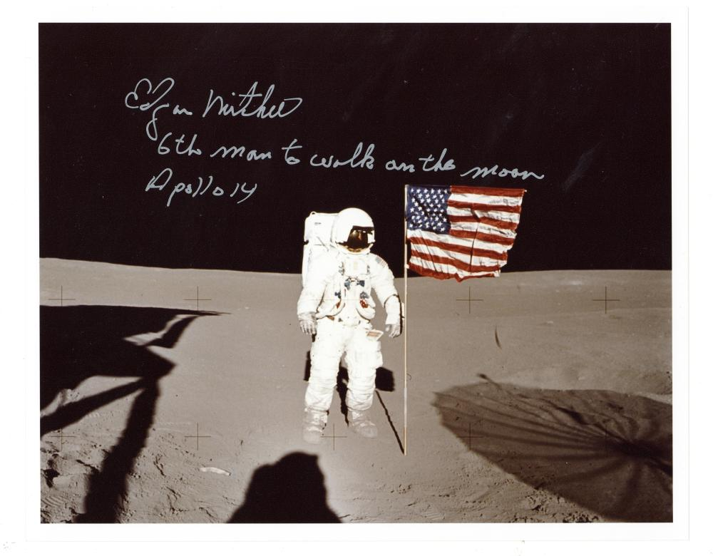 Apollo 14.- Edgar Mitchell