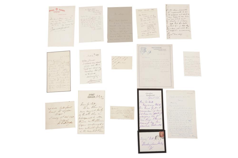 Autograph Collection.- Theatre Interest