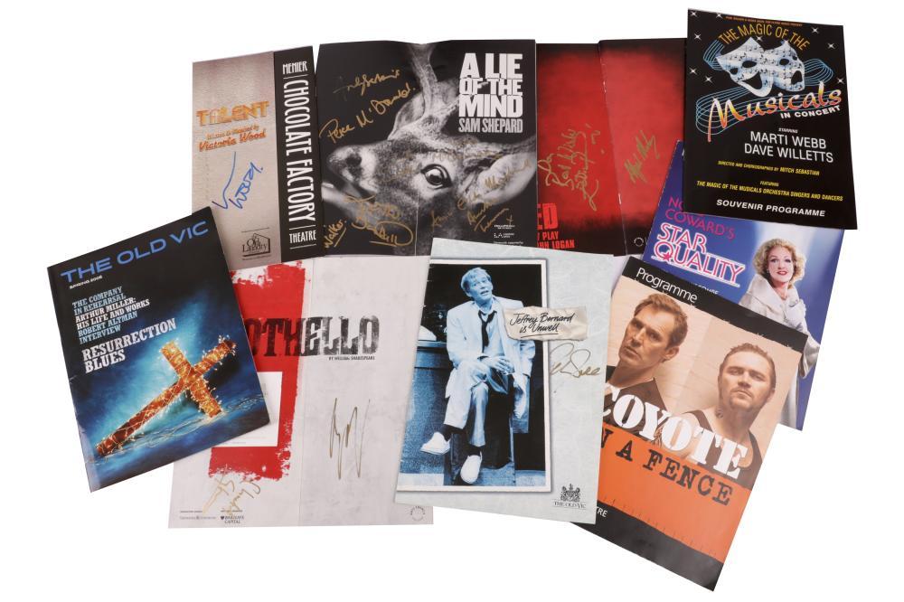 Autograph Collection.- Theatre Programmes