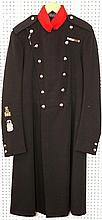 Military Bandmaster's frock coat, embroidered