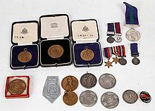 Military sporting medallions for 3rd Hussars,