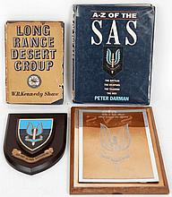 Long Range Desert Group, W.B. Kennedy Shaw, A-Z of