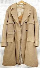 A 1940s World War II great coat, 44