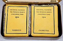A Princess Mary, World War I Christmas tin 1914,