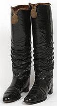 A pair of vintage Officer's Parade Wellingtons,