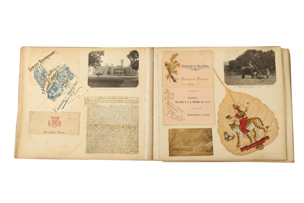 A TRAVELLER'S SCRAPBOOK: THE JOURNEYS OF MRS GROOVES Possibly England, ca. 1893 - 1904