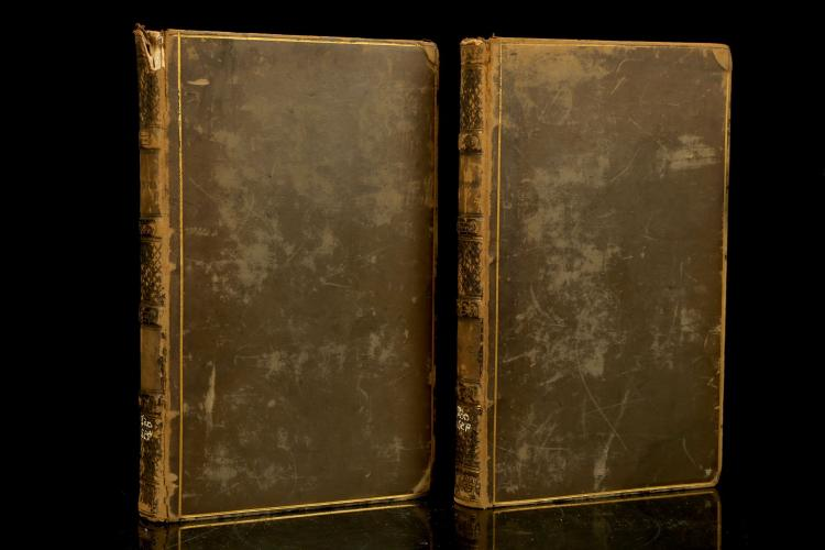 [OLIVER, Mrs. H.W.] Sephora; A Hebrew Tale, Descriptive of the Country of Palestine, and of the Manners and Customs of the Ancient Isralites. London: J. Hatchard and Son, 1826. 2 volumes, 8vo. (Occasional light spotting, without half titles and final adverts). Contemporary calf (worn). Provenance: Ethical Society (bookplate).