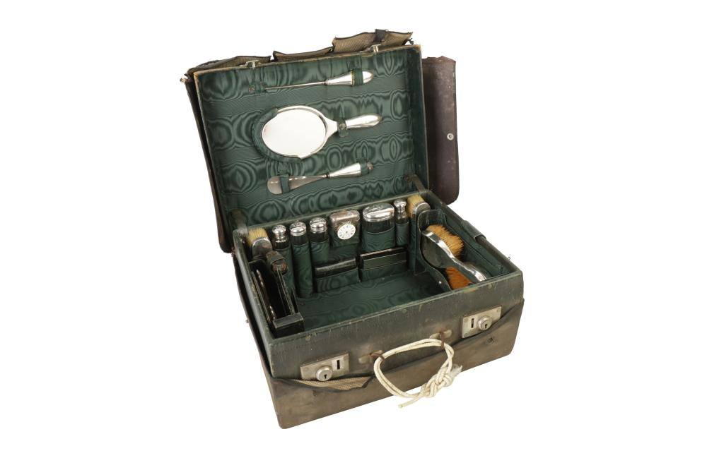 A VICTORIAN TRAVELLING VANITY CASE