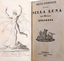 'THE GREAT MOON HOAX' - [Richard Adams LOCKE (1800-71)]. Delle Scoperte fatte Nella Luna dal Dottore Herschel. Florence: