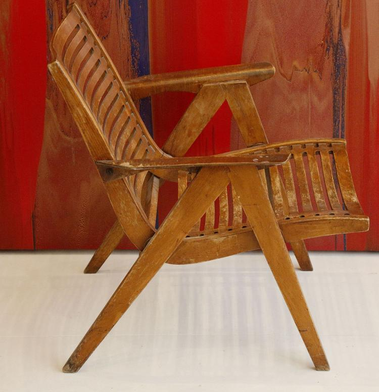 Fantastic A 1960S Bent Plywood Rex Lounge Chair Designed By Niko Kralj Theyellowbook Wood Chair Design Ideas Theyellowbookinfo