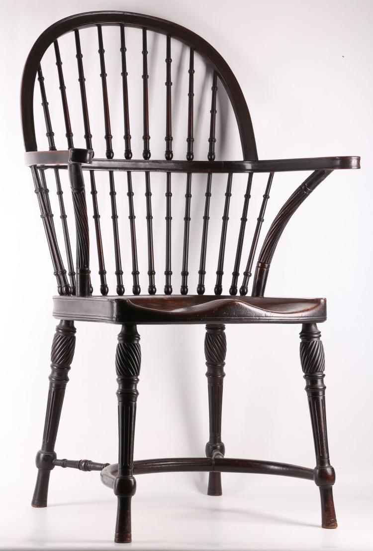 A mahogany windsor chair by william birch high wycombe c 1 for Furniture high wycombe