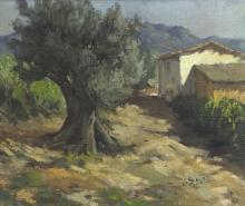 Josep Sala (1928-2010)/Sol de Tarde, Soller (Mallorca)/signed/oil on canvas, 45cm x 53cm