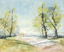 Gay Goodall (20th Century)/Landscape/signed/oil on canvas, 45cm x 54cm