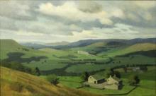 A Brooke/Galloway Landscape/signed/oil on canvas, 34cm x 54cm