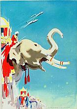 Laurence Fish (1919-2009)/Indian Elephant and
