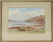 Frank Watson Wood jnr (British 1900-1985)/Looking Towards Oban/watercolour, 26cm x 37cm