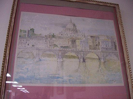 Georg Sauter, 1929 ST PETER'S BASILICA AND PONTE