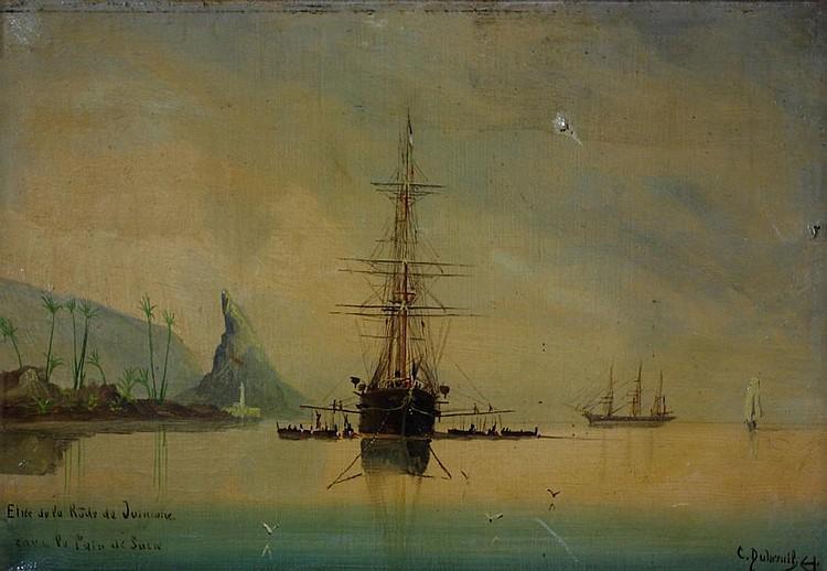 Cheri Francois Dubreuil SHIPPING OFF RIO DE