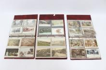 Approximately 430 picture postcards of Cheltenham and environs, Edward VII and later, some RP's