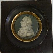 English School, circa 1810/Portrait Miniature of