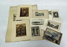 19th Century/Bristol Scenes/a folio of engravings