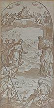 Follower of Palma il Giovane/The Visitation/pen