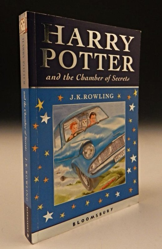 Harry Potter Signed Book