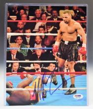 Mike Tyson Signed Photograph