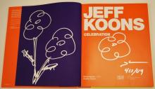 Jeff Koons Signed Book w/Drawings