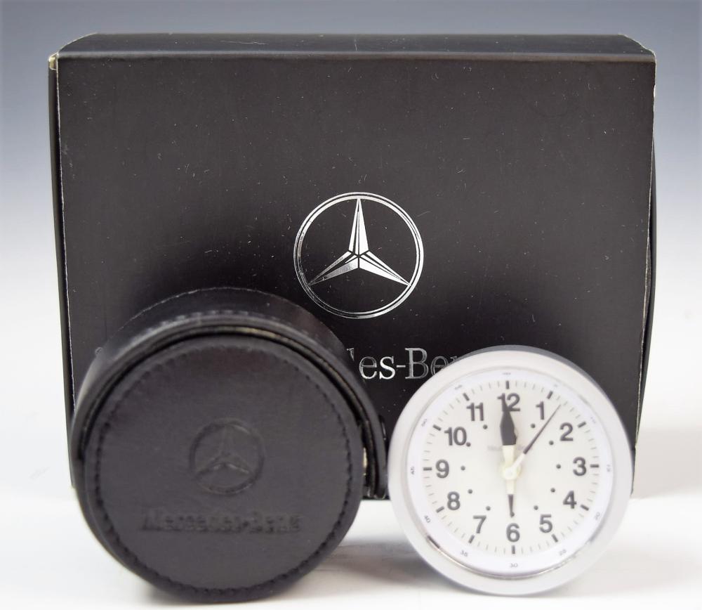 Mercedes Benz Clock