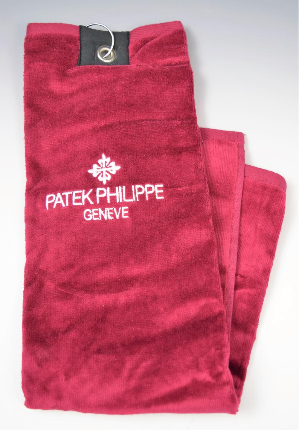 Patek Philippe Golf Towel