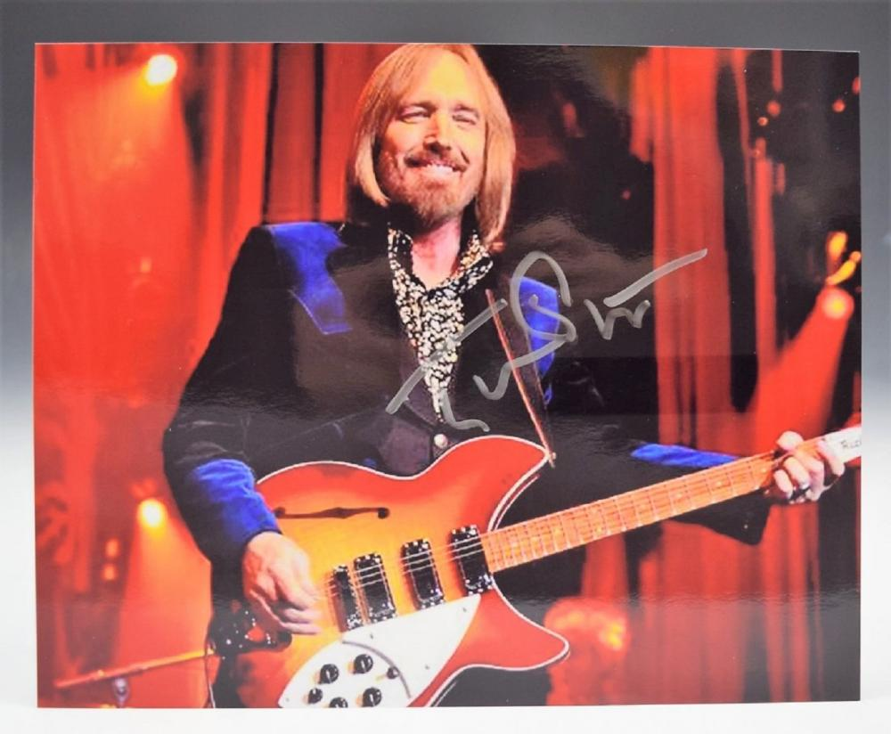 Tom Petty Signed Phtograph