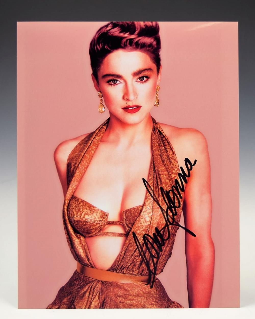 Madonna Signed Photograph