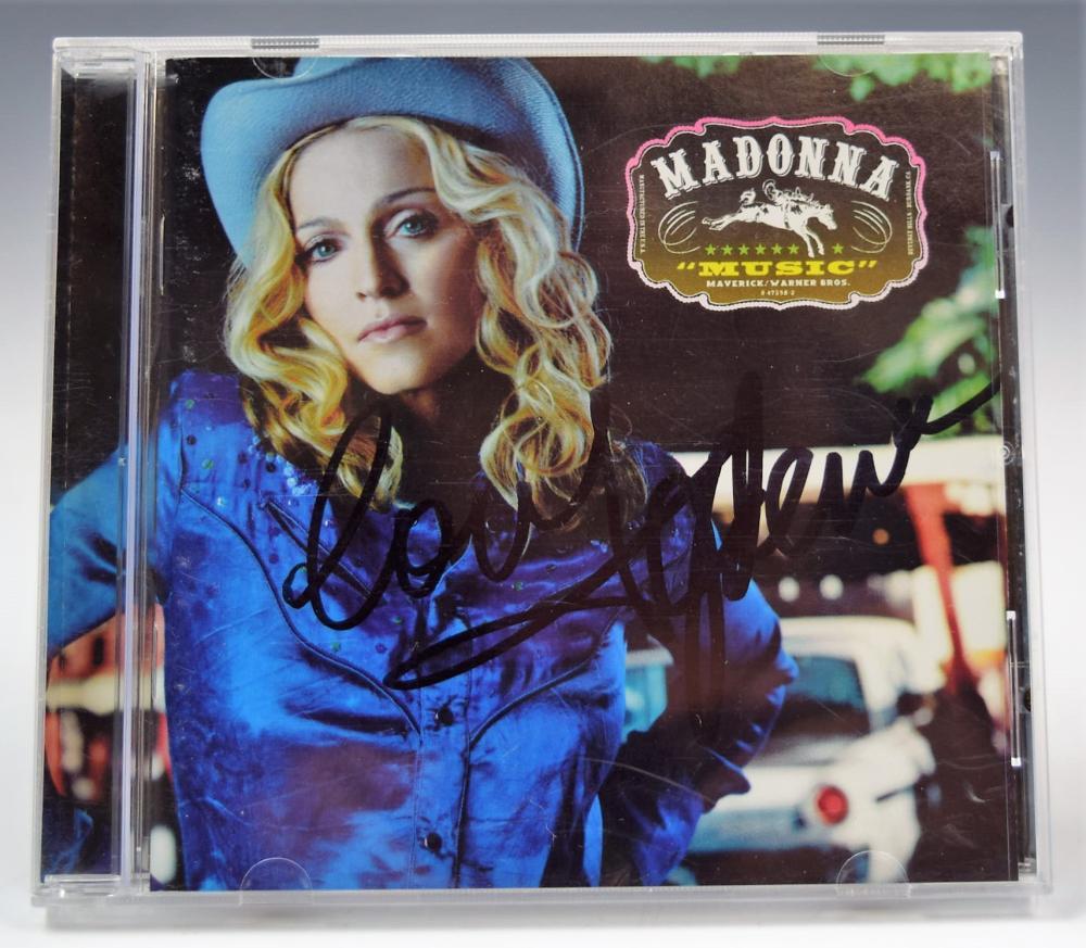 Madonna Signed Album
