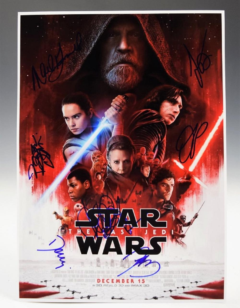 Star Wars Cast Signed Photo
