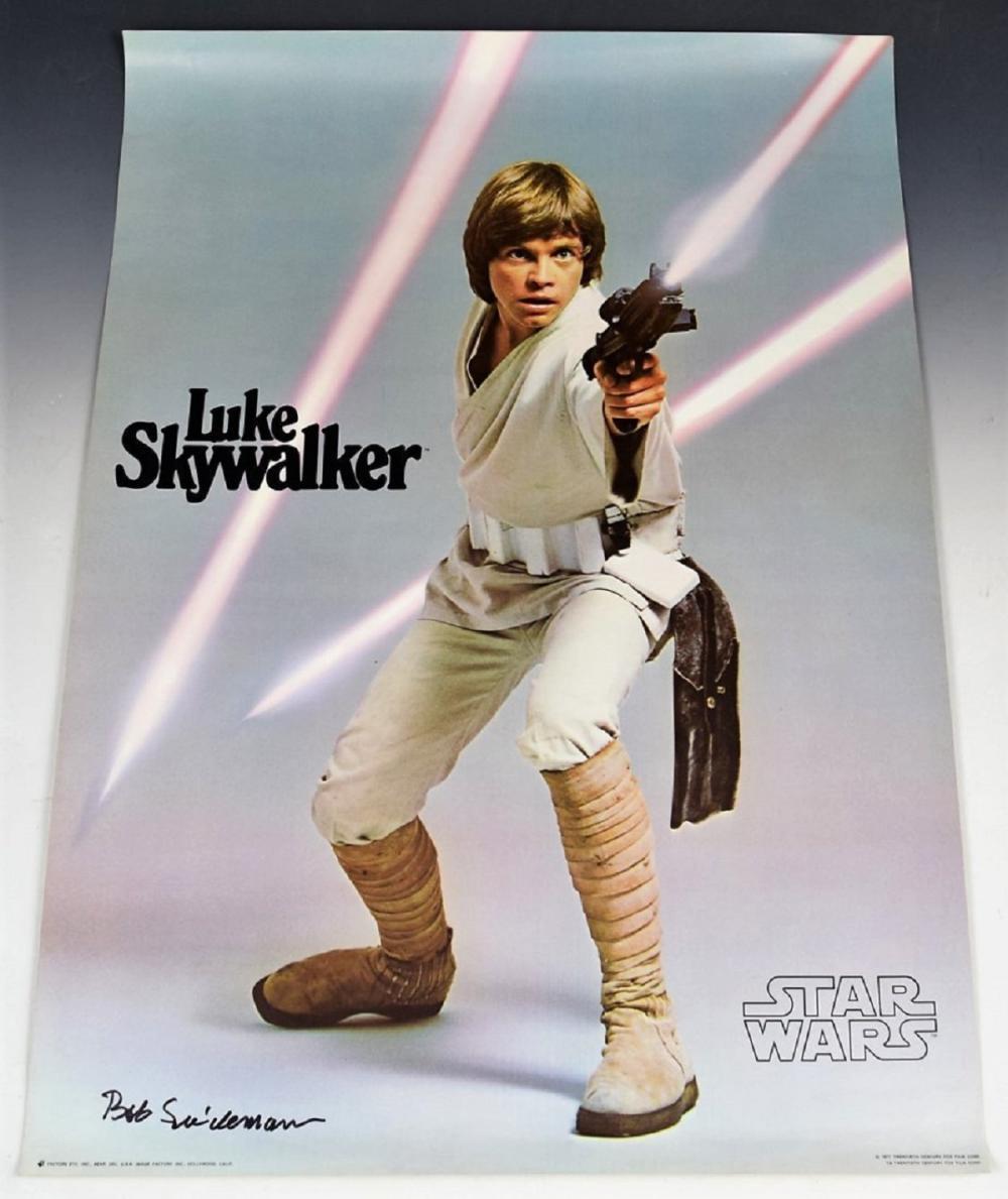 Star Wars Signed Poster