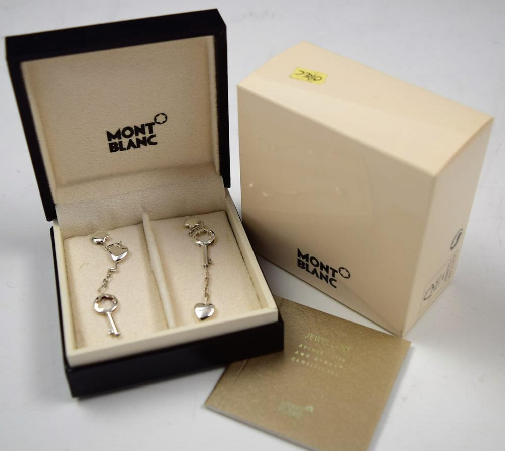 Montblanc Sterling Silver Earrings