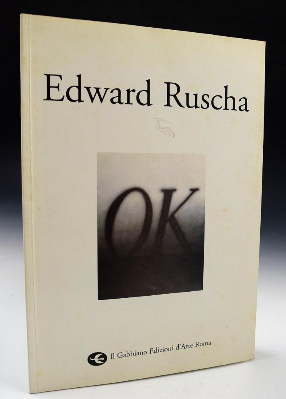 Ed Ruscha Signed Catalog