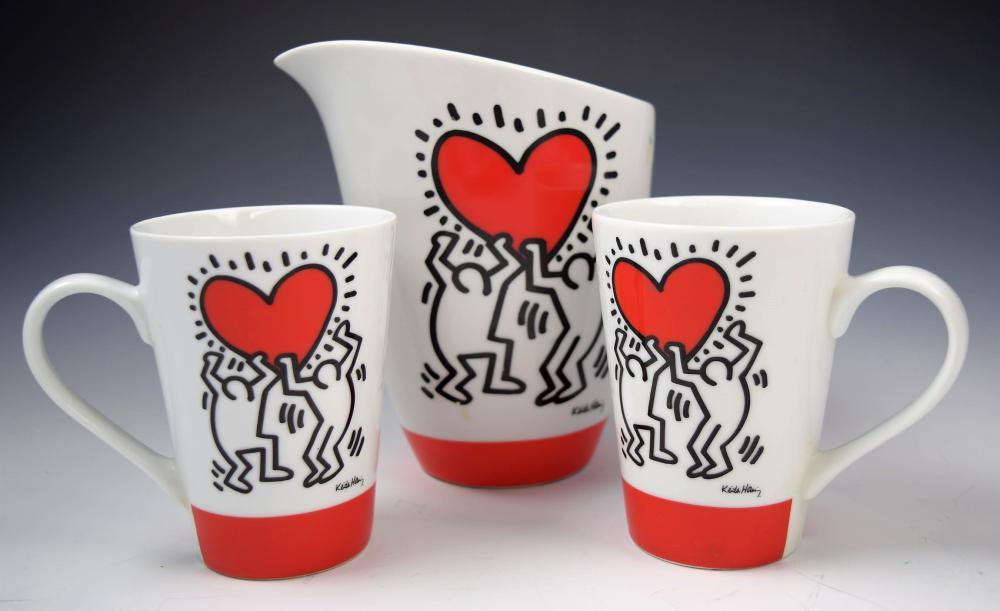 Keith Haring Ceramic Set