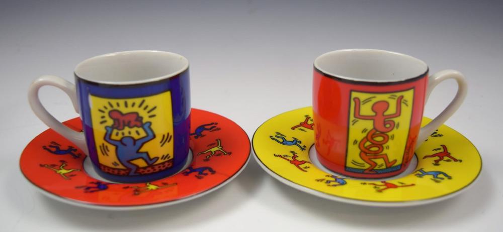 Keith Haring Espresso Set
