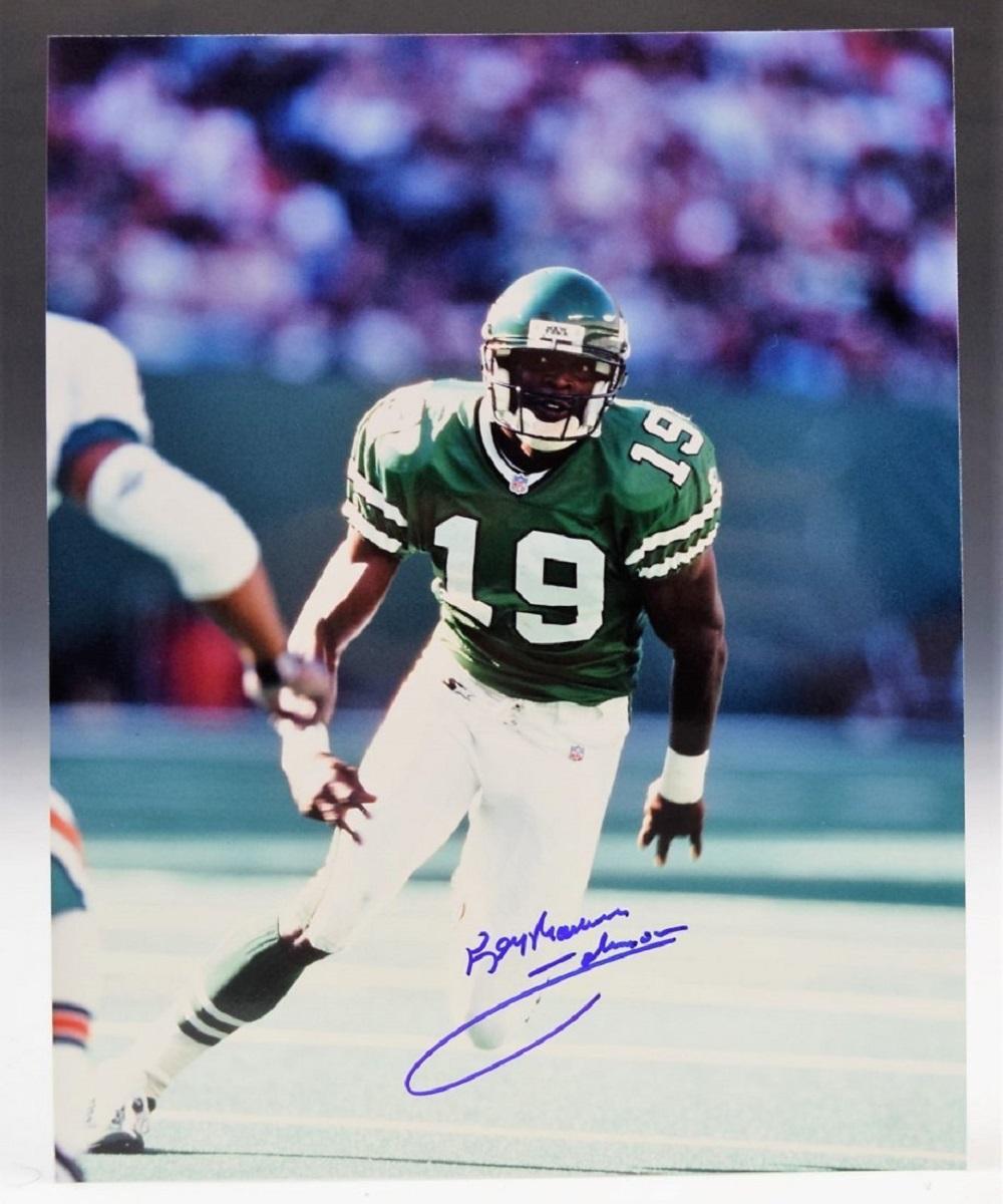 Keyshawn Johnson Hand Signed Photo