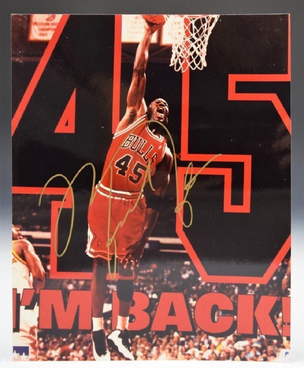 Michael Jordan Signed Photograph