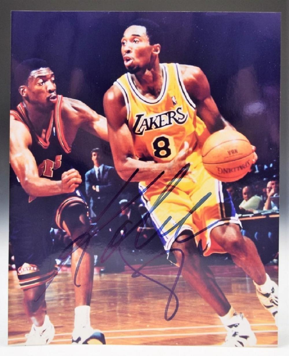 Kobe Bryant Signed Photograph